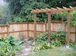 6x6 trellis posts add a beefy lo