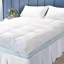 Goose Feather Bed Topper Feather Bed Mattress Topper Natural Latex Mattress