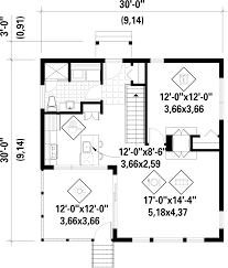 Contemporary Plan by Contemporary Style House Plan 1 Beds 1 00 Baths 756 Sq Ft Plan