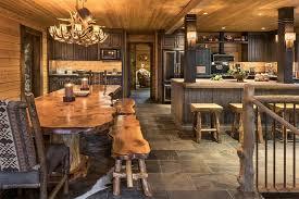Log Cabin Dining Room Furniture Beautiful Log Cabin Dining Room Ideas Full Home Living