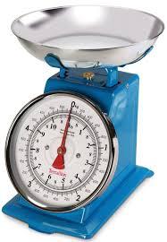 balance pour cuisine trad500 pop terraillon réédite en et bleu sa balance de