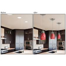 pendant lights that into can lights lighting l westinghouse 0101100 recessed light converter