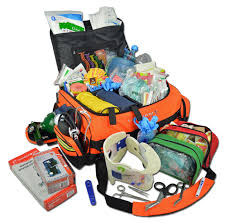 lightning x jumbo medic first responder emt trauma bag stocked