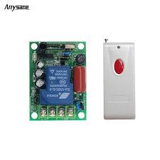 long range remote control light switch universal light switch wireless remote pump control controller