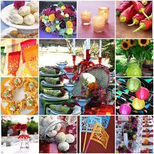 Mexican Themed Decorations Mexican Wedding Centerpieces Mexican Wedding Decorations