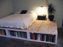 Diy Full Size Platform Bed With Storage Plans by Best 25 Full Bed With Storage Ideas On Pinterest Diy Full Size
