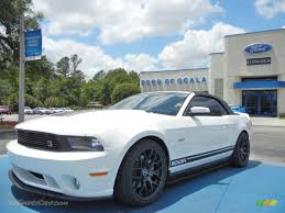 Black 2011 Mustang Gt 2011 Ford Mustang Gt Premium Convertible In Performance White
