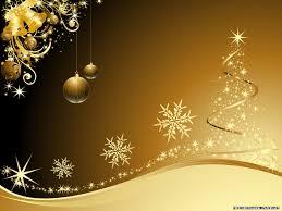 3d christmas wallpaper free wallpapers golden christmas