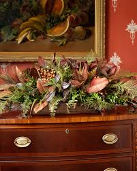 tuscan buffet silk flower centerpiece at officescapesdirect