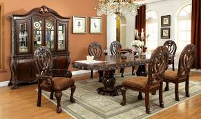 9 Piece Dining Room Set Hokku Designs Dolores 9 Piece Dining Set U0026 Reviews Wayfair