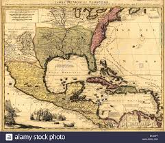 North America Political Map by 1710 Dutch Map Of North America And The Caribbean With Major