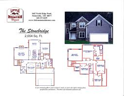 colonial homes floor plans stonebride colonial design little mountain homes