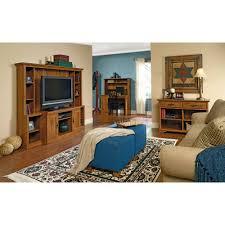 Sauder Bedroom Furniture Sauder Harvest Mill Entertainment Credenza For Tvs Up To 47