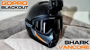 shark motocross helmets gopro hero 4 blackout housing shark vancore luczyn motovlog helmet