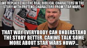 Star Wars Christmas Meme - star wars pastor defends and promotes cosmic christmas publicity