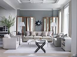Decorating Living Room With Gray And Blue Inspiring Gray Living Room Ideas Photos Architectural Digest