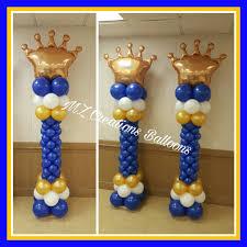 Royal Prince Decorations Royal Prince Balloon Decoration Royal Prince Baby Shower