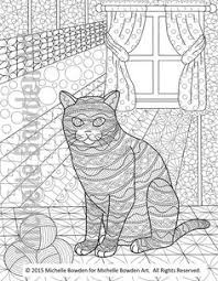 tabby cat coloring pages abstract doodle cat coloring page colouring cats dogs