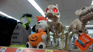 Halloween Skeleton Dog by Led Skeleton Dog Walgreens Halloween 2016 Youtube