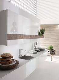 cuisine design blanche cuisine design blanche et bois