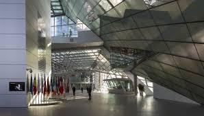 bce sede centrale coop himmelblau sede della bce a francoforte floornature