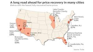 Ormond Beach Florida Map by Just One Third Of U S Homes Have Recovered To Pre Recession