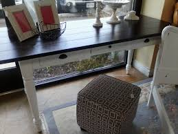 sold farmhouse bakers table u2013 painted furniture fredericksburg va