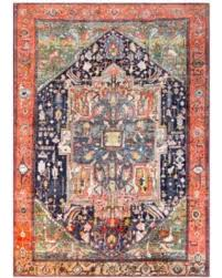 Silk Area Rugs Great Deals On Silk Road Updated Traditional Coral Blue Area