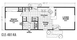 Cavco Floor Plans Floor Plan Cle 4016a Cle Single Section Durango Homes Built