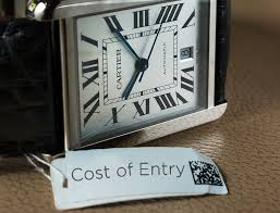cost of entry cartier watches ablogtowatch