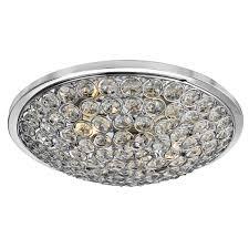 Searchlight Ceiling Lights Searchlight 4163 35cc Chrome Buttons 3x33w Flush