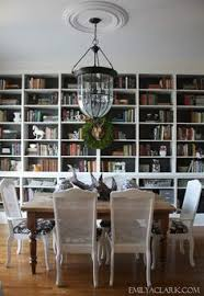 Decorating Dining Room Table Dining And Library Combined Omg Omg Omg My Two Favorite