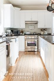 is semi gloss for kitchen cabinets painted kitchen cabinets reveal miss mustard seed