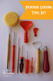pumpkin carving kits the creative cubby pumpkin carving tool box