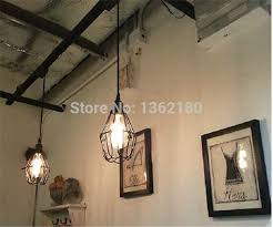 Cable Pendant Lighting 3 Pcs Of Black Twisted Cable Unique American Style Pendant Light