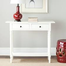 Shabby Chic Console Table Furniture Console Table With Shelf Shabby Chic Baskets