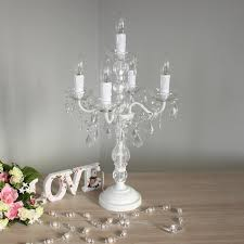 Shabby Chic White Chandelier White Chandelier Table Lamps U2014 Home Ideas Collection Chandelier