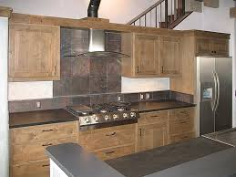 large tile kitchen backsplash minimalist kitchen travertine tile backsplash reclaimed wood