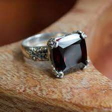 rings large stones images Garnet rings in sterling silver tags 82 magnificent silver and jpg