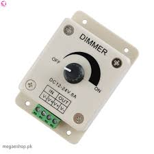12v 8a switch dimmer brightness adjustable controller for dc motor