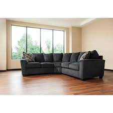 Livingroom Gg 2 Piece Corner Sectional With Rounded Track Arms By Benchcraft