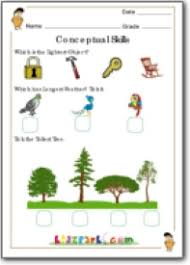 nearest or farthest worksheets for class 1 conceptual skill