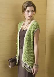 crochet sweater vest pattern free crochet and knit