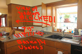 how to demo kitchen cabinets how to remove a kitchen cabinet section removing upper peninsula