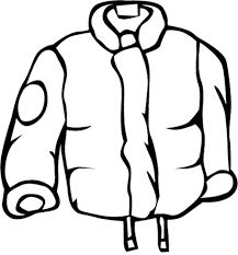 raincoat for men coloring page winter coloring page pinterest