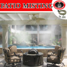 Patio Misters Pre Assembled Diy Patio Kit For Instant Fine Mist Backyard Cooling
