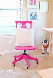 sassy pink office chair makeover hometalk