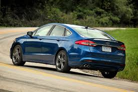 ford fusion 2017 ford fusion sport is big on power and performance heraldnet com