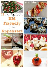 New Year S Day Decorations new year u0027s eve recipes kid friendly appetizers