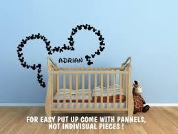 chambre b b mickey chambre bébé cadeaux sticker murale stickers mickey